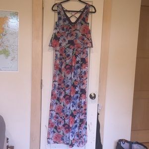 Lily rose size Large flower dress